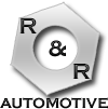 R and R Automotive logo
